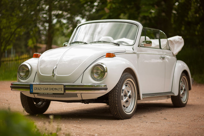 "VW Käfer Cabrio Sonderedition ""triple white"""